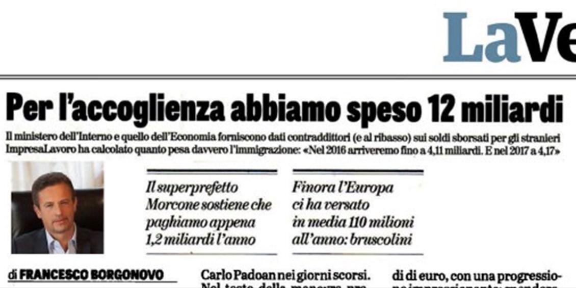 Lo Stato ha tradito gli italiani sfruttando i nostri soldi per farci invadere da popolazioni aggressive