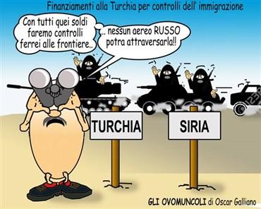 Finanziamenti alla Turchia per i controlli dell'immigrazione