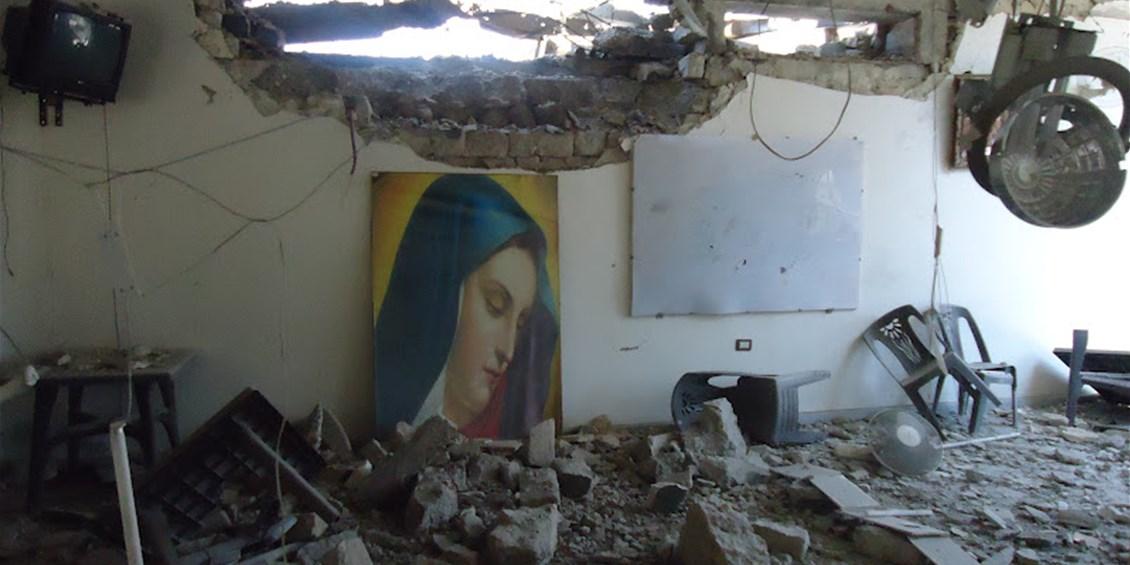 Ad Aleppo i terroristi suicidi islamici si sono fatti esplodere devastando chiese, conventi, il centro storico e ucciso migliaia di cristiani