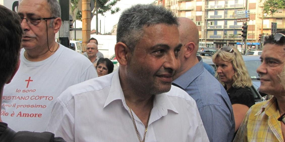 Ancora botte per Sherif, l'egiziano cristiano