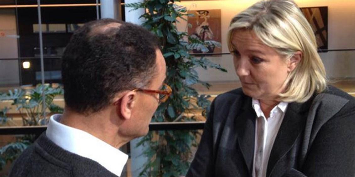 Le Pen apprezza la scelta NO EURO di Fratelli d'Italia
