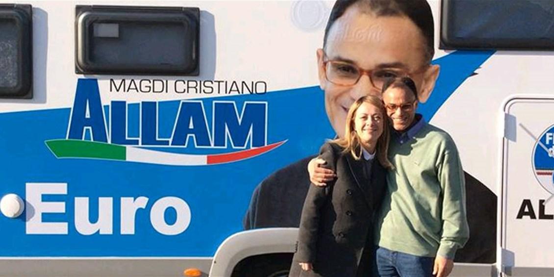 Georgia Meloni si propone come versione italiana della Marie Le Pen d'oltralpe e Magdi Cristiano Allam fa una requisitoria contro gli egoismi della Ue
